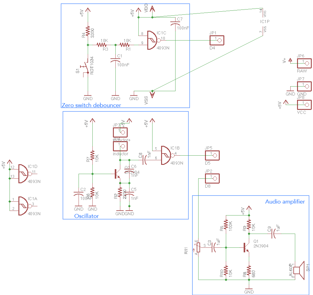 Arduino Metal Detector Long Range Schematic Electronic Components For Those Who Are Curious Heres The Diagram